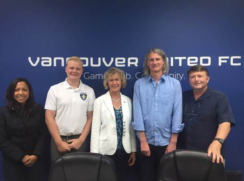 Honourable Joyce Murray Visits our VanU Office